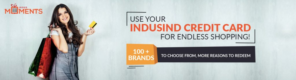 Buy Myntra Gift Voucher using IndusInd Credit Card