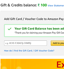 HOW TO REDEM AMAZON GIFT CARD