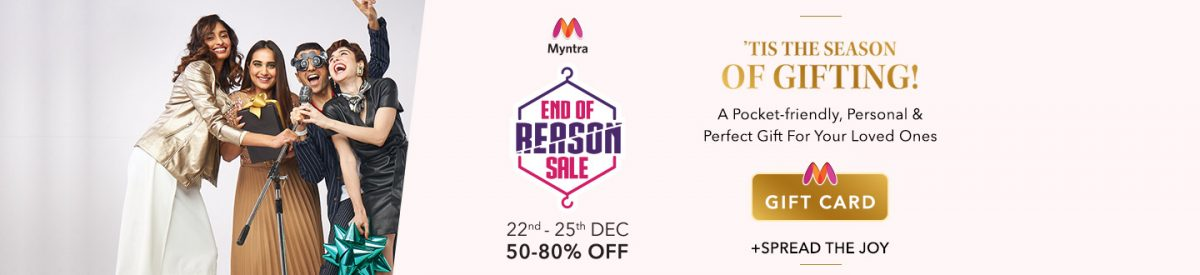 Refresh your Wardrobe With the Myntra EORS